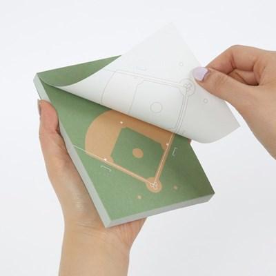 Sports Memo Pad(Baseball)