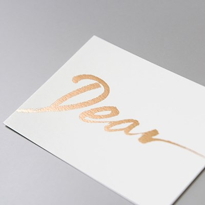 DEAR CALLIGRAPHY MESSAGE CARD (봉투set)