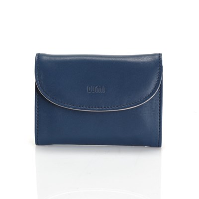 ASA Card Wallet Navy BlueTaupe