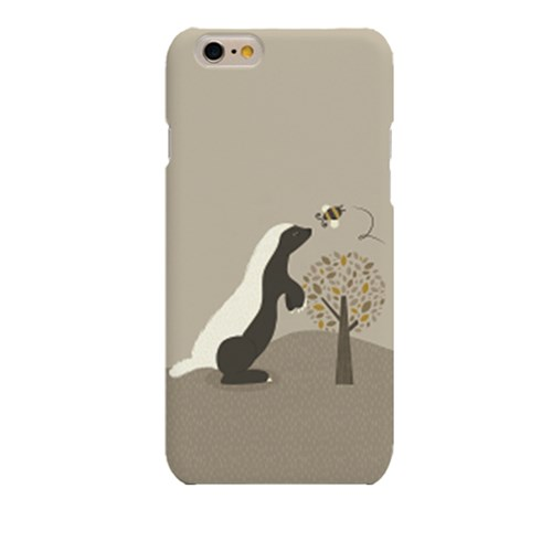 Raccoon with Bee (HA-022A) Hard Case