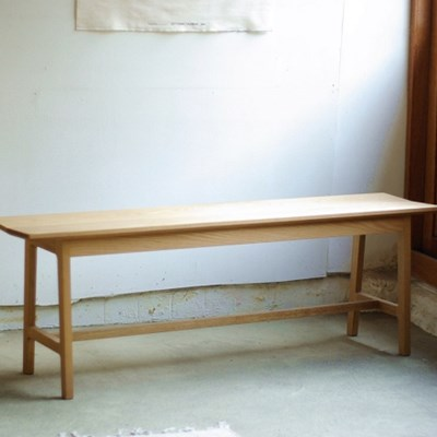 [고요퍼니처] 원목 벤치의자
