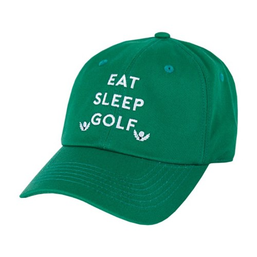 [바잘] Eat Sleep Golf ballcap green