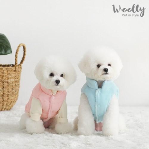 울리 베스트 강아지옷/강아지패딩