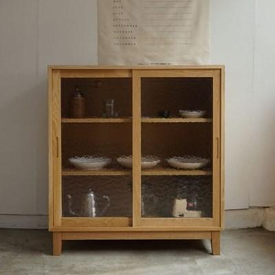 [고요퍼니처] 원목 그릇장