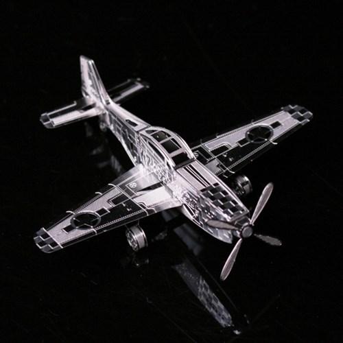 메탈퍼즐- P51비행기