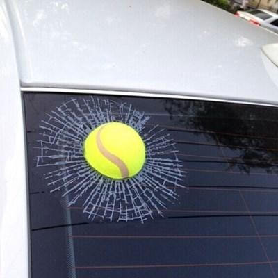 3D 테니스 자동차 스티커