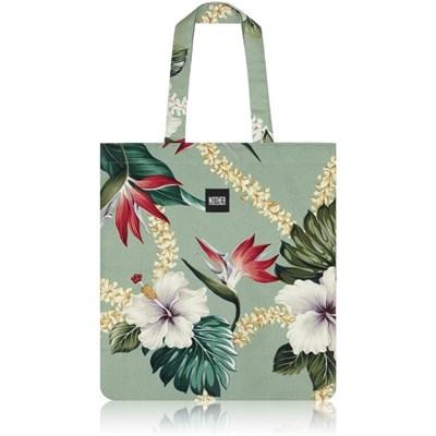 nother Layla Hawaiian Flat Tote Bag (Lark Green)