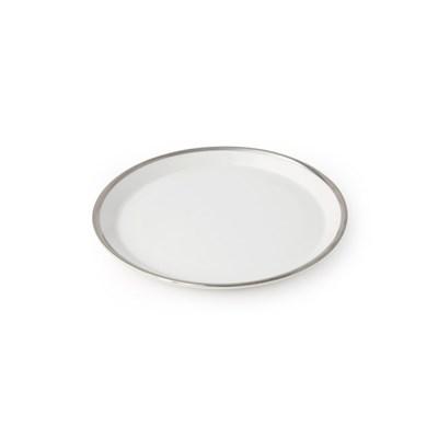 화이트골드 접시 S