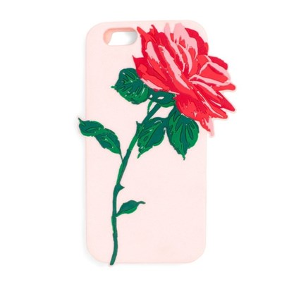 silicone iphone 7 case, will you accept this rose?