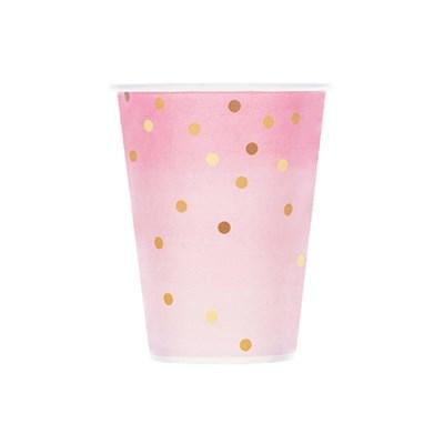 핑크마블 도트 종이컵 (10p)