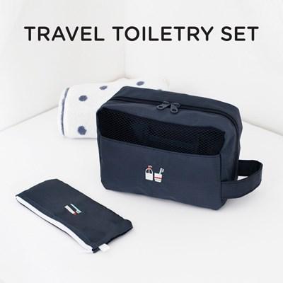 TRAVEL TOILETRY SET