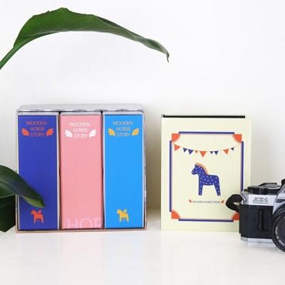 목마이야기 대용량 포켓식 포토앨범 3set