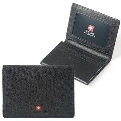 스위스밀리터리 남성 명함지갑 카드지갑 WA0530BKP