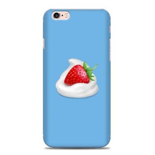 [스트로베리] 휘핑에 딸기 블루 하드케이스