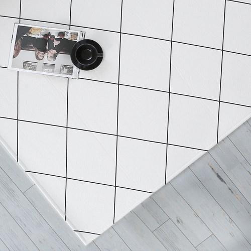 [바이빔]카로 라인 면 러그[200x300]-슈퍼점보