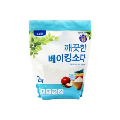 깨끗한 베이킹소다 2kg(파우치)