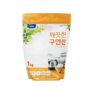 깨끗한 구연산 1kg(파우치)