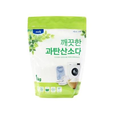 깨끗한 과탄산소다 1kg(파우치)