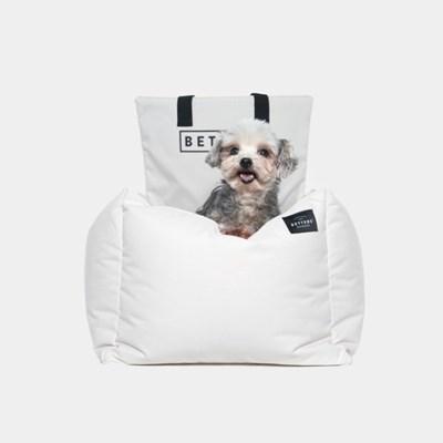 강아지 카시트 Dog Carseat - Ivory