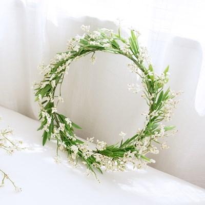 내추럴 와일드 들꽃화관 [2color]_(515899)