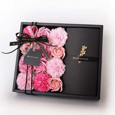 핑크 플라워 용돈박스