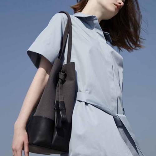 KNOT BAG _ GRAY