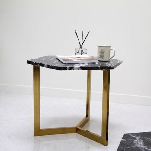 아르마블 영월석 육각 대리석 테이블