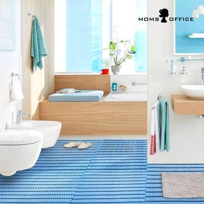 [티볼리] 다용도 욕실 매트 120X100cm 1+1세트_(2239496)