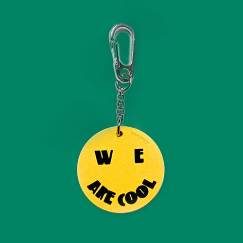 RUBBER KEY HOLDER_COOL_YELLOW