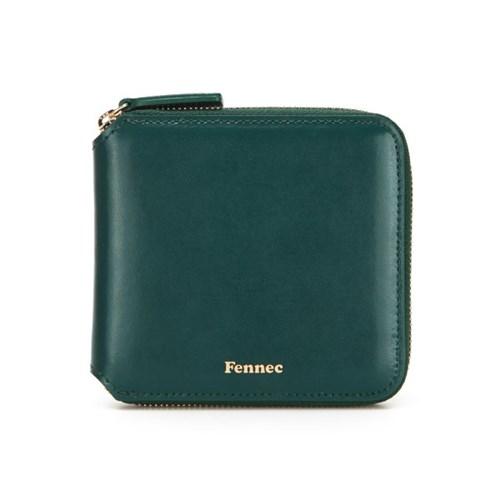 Fennec Zipper Wallet - Moss Green