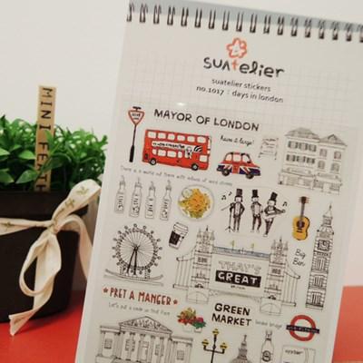1017 days in london