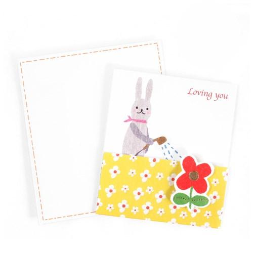 미니팝업카드-토끼