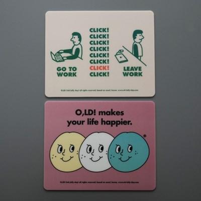[마우스패드] O,LD! 마우스패드