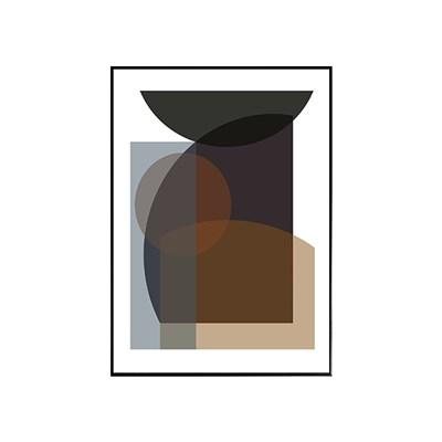 EPOK- 브라운써클(Brown Circle) 50*70 framed