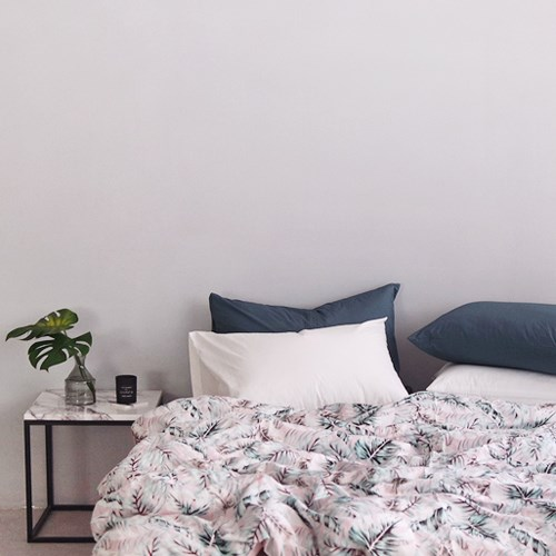 핑크 트로피칼 침구 (싱글/슈퍼싱글)