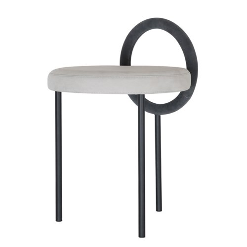 Hoop Stool - Dark Gray