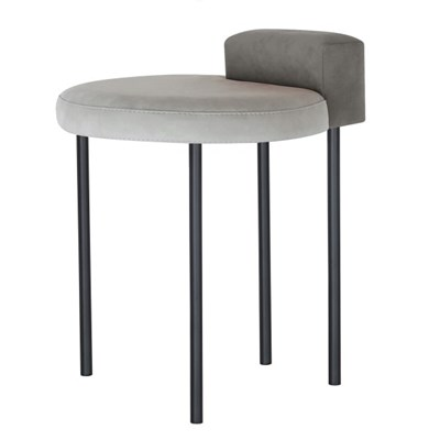 Box Stool - Dark Gray