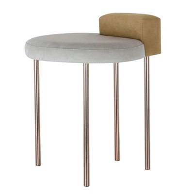 Box Stool - Brown Gold