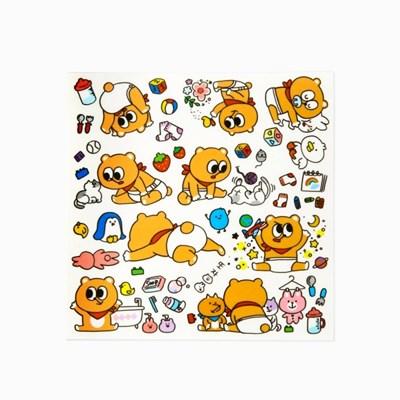 [또자] 아기또곰 스티커(10매입)