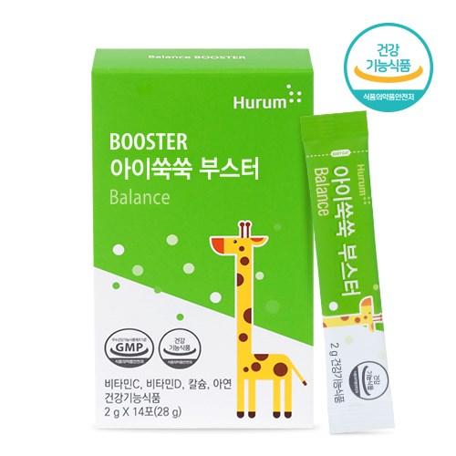 [휴럼] 아이쑥쑥 부스터 성장기어린이영양제 1box