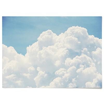 패브릭 포스터 F105 하늘 풍경 인테리어 뭉게 구름 B