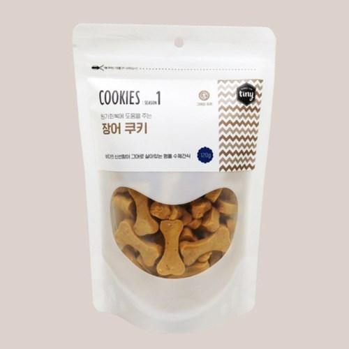COOKIES 그레인 프리 장어 쿠키 120g