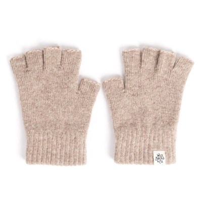 FINGER LESS GLOVES (beige)