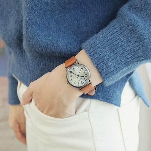 JA-911여성시계/손목시계/가죽밴드