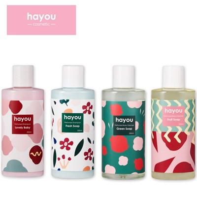 하유 바스 [ 바디클렌저 샴푸 ] HAYOU bath - bodycleanser Shampoo