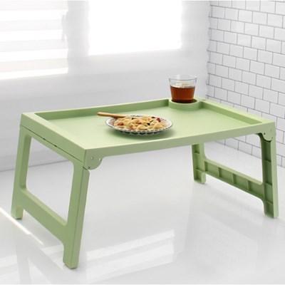 파스텔 폴딩 베드 테이블-2color