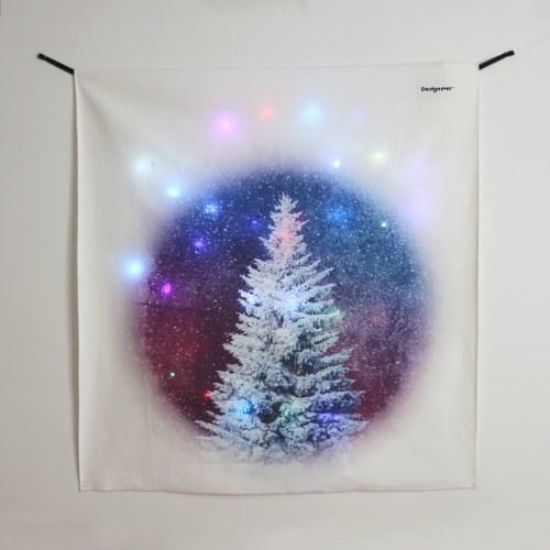블루트리 LED 패브릭 액자 포스터 커튼 벽트리 (90x100cm)