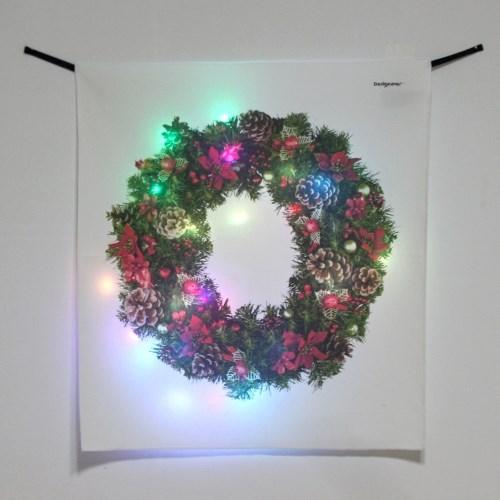 리스 LED 패브릭 액자 포스터 커튼 벽트리 (58x66cm)