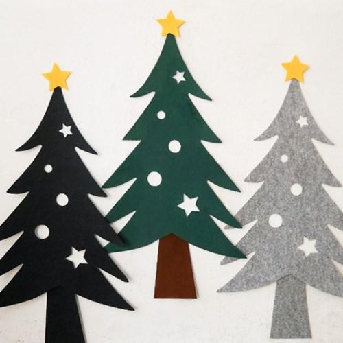 크리스마스 펠트 벽트리