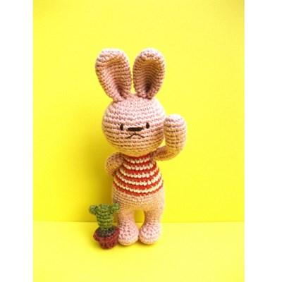 [손뜨개 DIY]손뜨개인형-동물친구들3-토끼